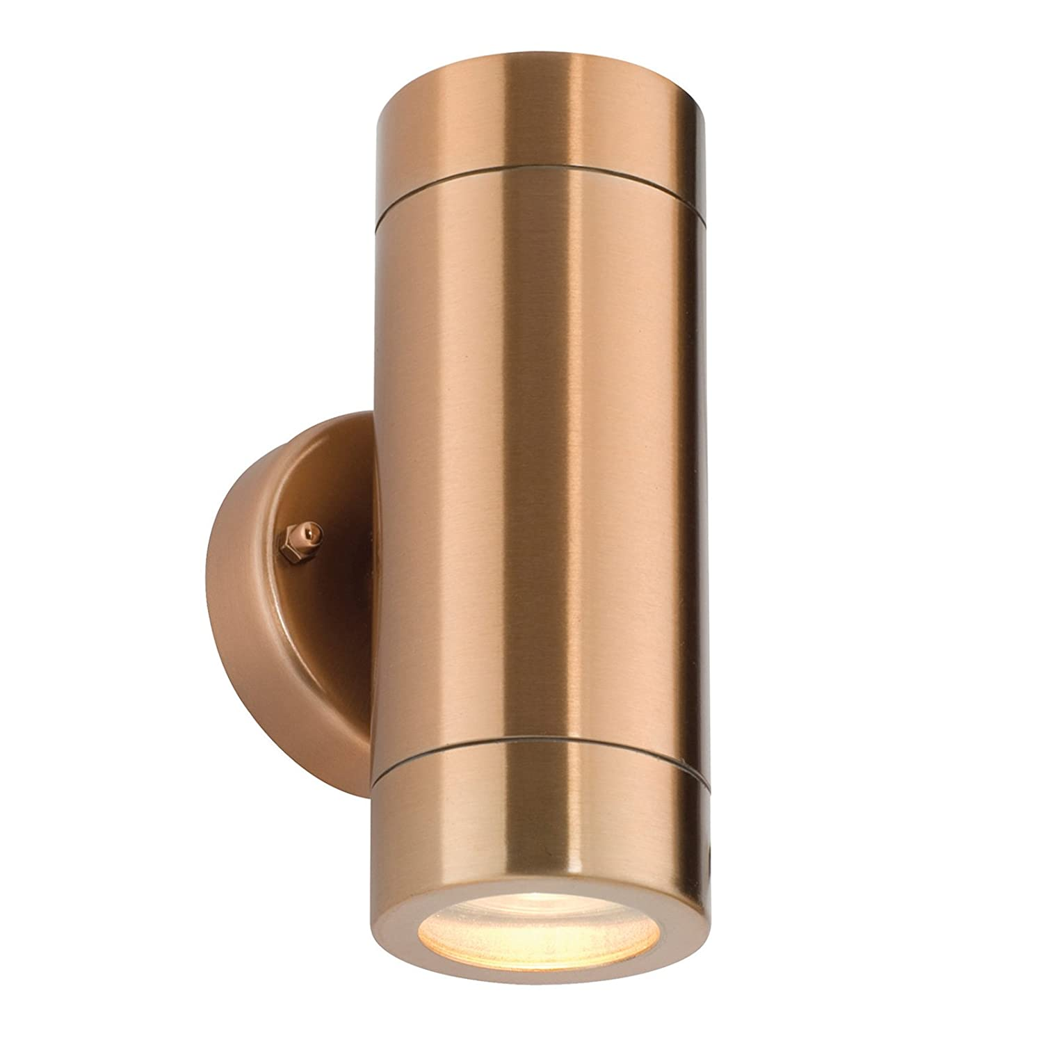 Saxby odyssey 35w twin copper ip44 outdoor up down wall light saxby odyssey 35w twin copper ip44 outdoor up down wall light amazon lighting aloadofball Gallery