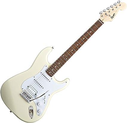 Squier Bullet Strat 310005580 - Guitarra eléctrica, color blanco ...