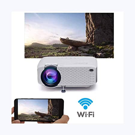 Ai LIFE Proyector Proyector WiFi Proyector inalámbrico más ...