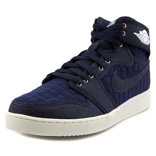 ecc686b5434 Image Unavailable. Image not available for. Color  Nike Air Jordan 1 KO  High OG Obsidian White ...