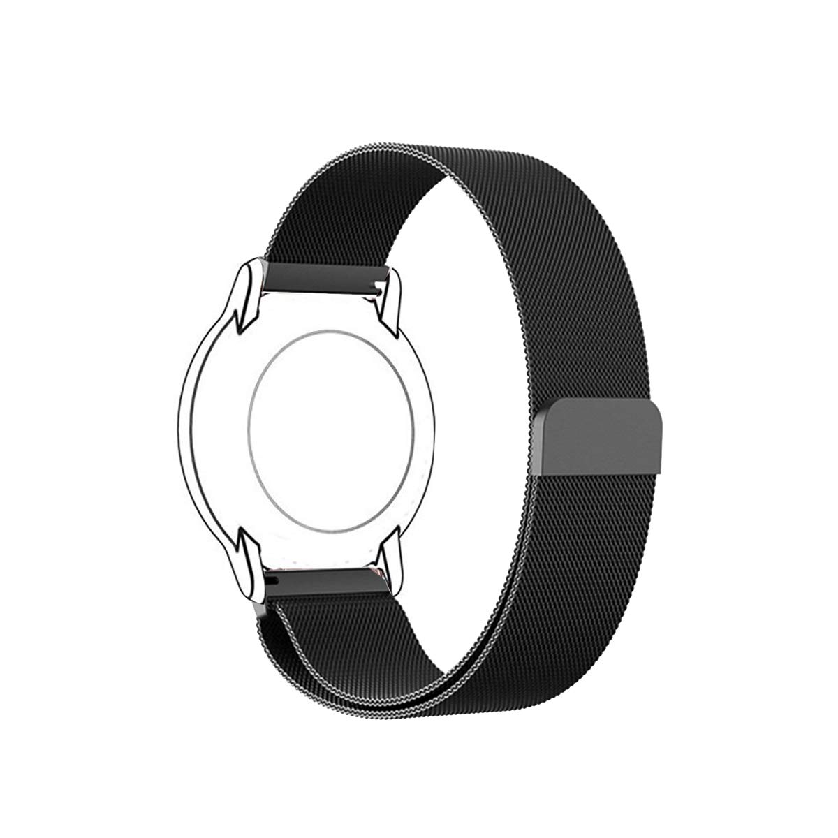 Mihence Milanese Band Compatible Fossil Sport (41mm Case) Smartwatch, Magnetic Loop Mesh Stainless Steel with Unique Magnet Closure Clasp Replacement ...