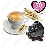 50 Capsule Caffè Solubile al Ginseng Compatibili Nescafè Dolce Gusto - Tre Venezie Cialde
