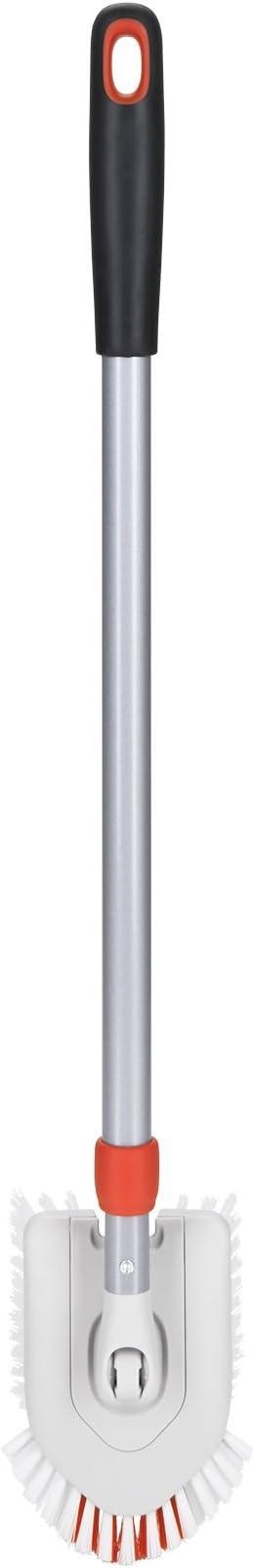 Multicolore OXO Good Grips Brosse Extensible pour Baignoire et carrelage Recharge