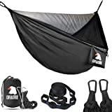 Covacure Camping Hammock - Lightweight Double Hammock, Hold Up to 772lbs, Portable Hammocks for Indoor, Outdoor, Hiking, Camp