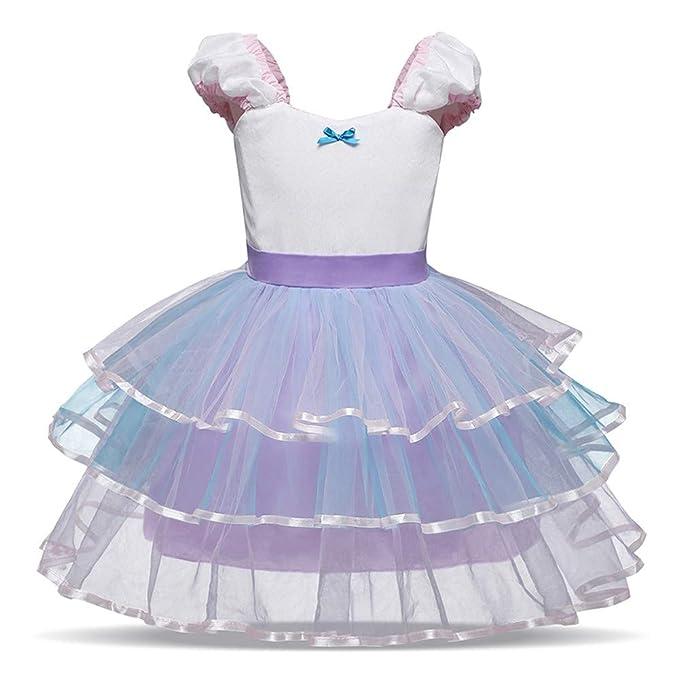 Vestido de Boda Fiesta para Bebé Niñas Sin Largas Otoño 2018 Moda PAOLIAN Ropa para Niñas