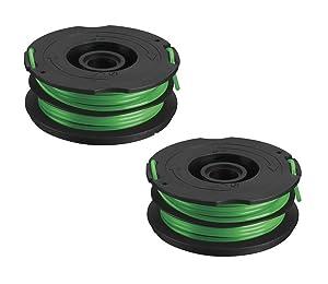 Black & Decker DF-080 .080-inch dual spool line GH1000 GH1100 GH2000 (2 Pack)