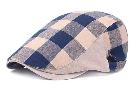 JUNGEN Sombrero unisex de la boina sombrero elegante sombrero ocasional del sol para al aire libre o...