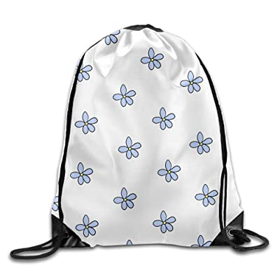 Large Weekender Carry-on Ambesonne Blue Gym Bag Hand Drawn Circles Cells