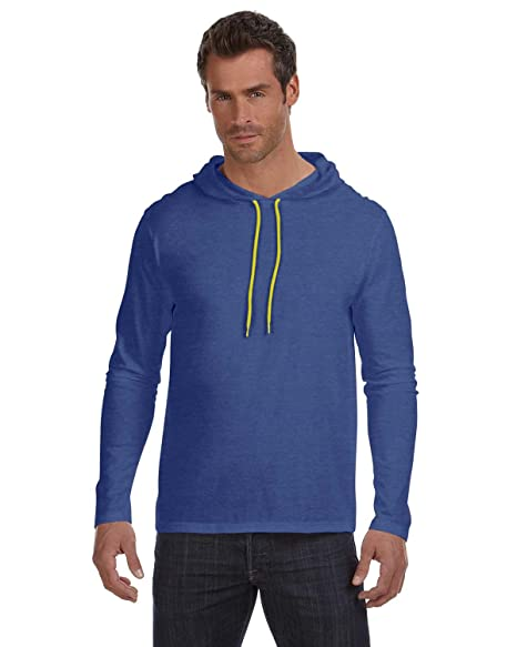e8f76ec1609 Image Unavailable. Image not available for. Color  Anvil Men s Lightweight  Long-Sleeve T-Shirt ...