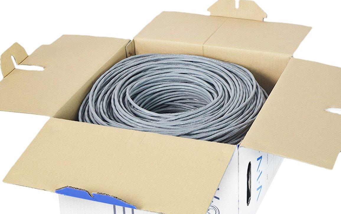 Amazon.com: VIVO New 500 ft bulk Cat6 (CCA) Ethernet Cable/Wire UTP ...