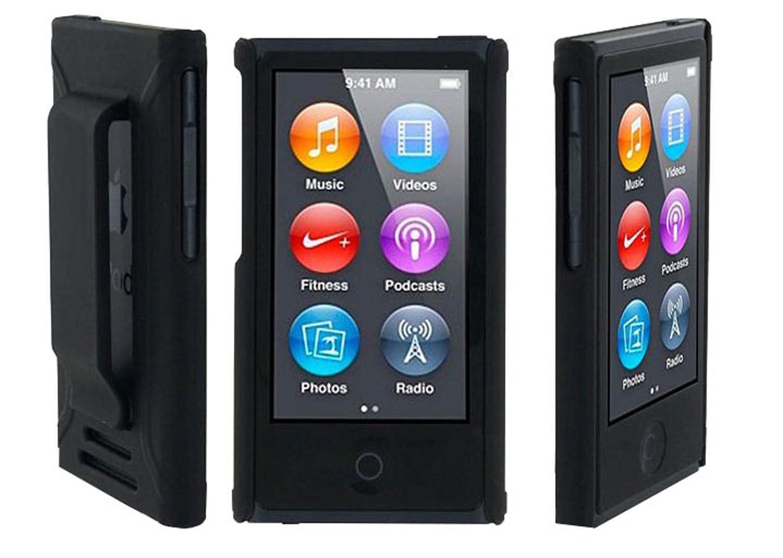 case cover belt clip for ipod nano 7th gen 7 7g piggyb. Black Bedroom Furniture Sets. Home Design Ideas
