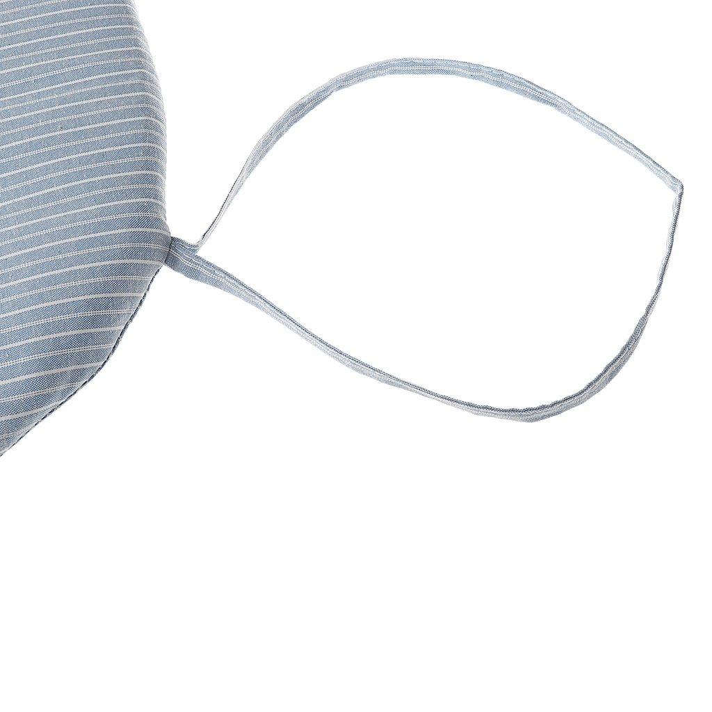Karo//Streifen Ausw/ählbar Blau Streifen MagiDeal 40x40cm Weiche Stuhlkissen Sitzkissen f/ür Esszimmer//Garten