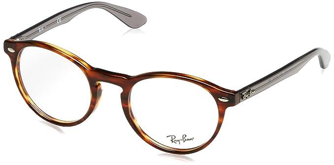 eb63c876e2b8b Ray-Ban Men s RX5283 Eyeglasses Striped Havana 47mm