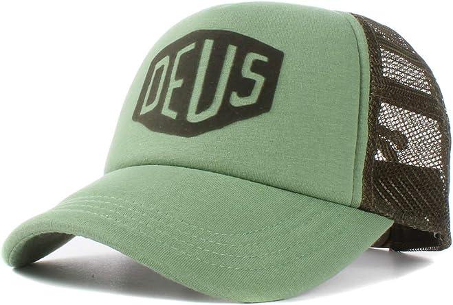 Deus - Gorra de béisbol - para Hombre Verde Talla única: Amazon.es ...