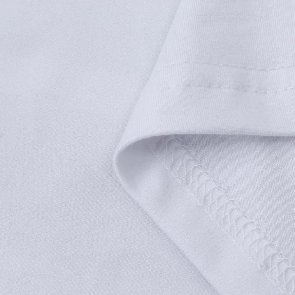 kaifongfu Blouse Men Plus Size Christmas Printing Tees Shirt Long Sleeve T Shirt