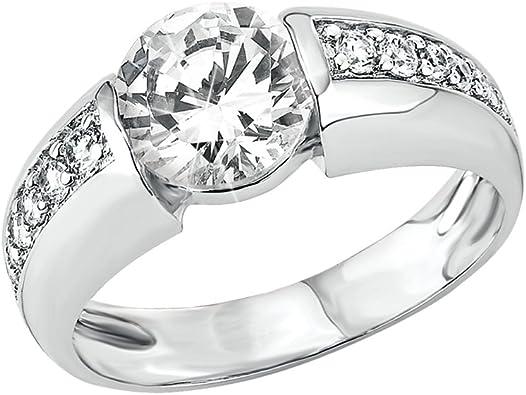 s.Oliver Jewels - 462877 - Bague Femme - Argent 925/1000 5.06 Gr - Oxyde de Zirconium