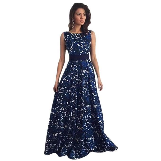 Amazon.com: AmyDong Hot Sale! Vestido de mujer, sexy, floral ...
