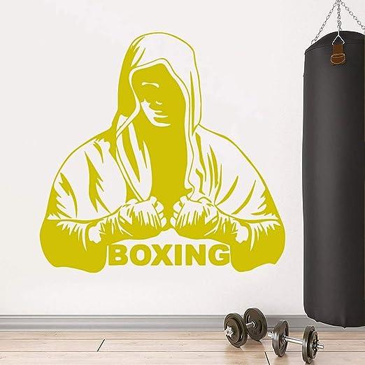 jiuyaomai Pegatina de Pared de Vinilo de Boxeo Personalizado de ...