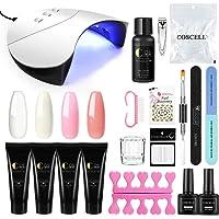 Vilamon LED Lámpara Secador de Uñas 36W Poly UV Gel Primer Uñas Topcoat Lima de Uñas Manicura Kit