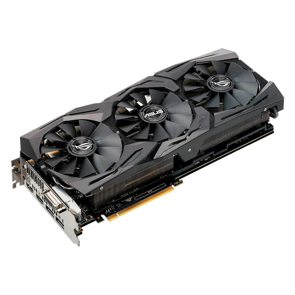 ASUS ROG-STRIX-GTX1080TI-O11G-GAMING GeForce GTX 1080 Ti ...