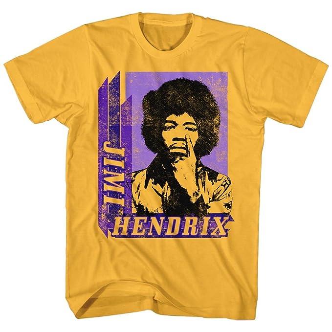 2Bhip Jimi Hendrix Americana Leyenda de la Guitarra Eléctrica de Rock una Camiseta para Hombre Pequeña Jengibre: Amazon.es: Ropa y accesorios