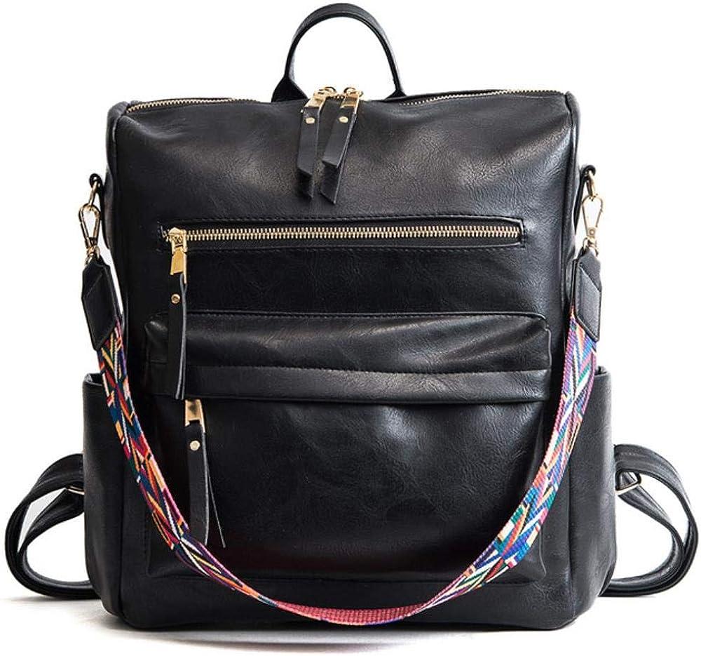 Backpack Women PU Leather Rucksack Womens Knapsack Backpacks School Back Pack