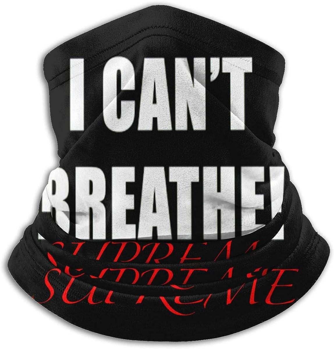 I Can't Breathe Neck Windproof Bandanas Headwrap Balaclava Scarf Headband Microfiber Neck Warmer