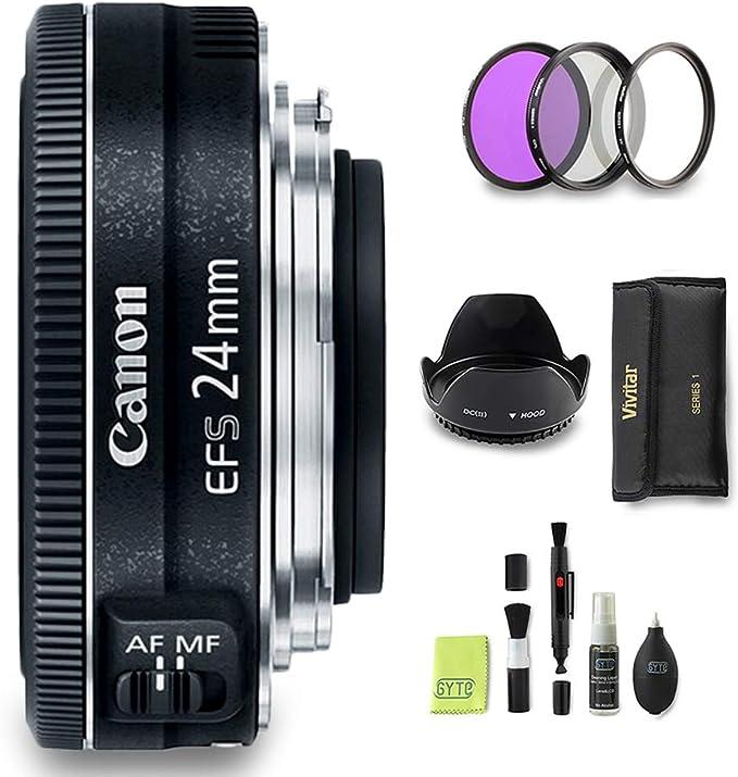 Gyte Bundle Canon Objektiv Ef S 24 Mm 1 2 8 Stm Kamera
