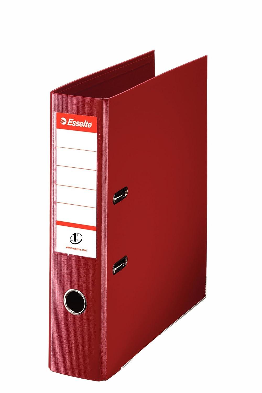 Esselte N/°1 Power Classeur /à levier Format A4 Capacit/é 350 feuilles Bordeaux