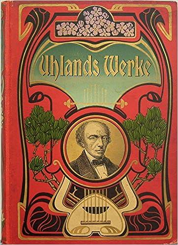Ludwig Uhlands gesammelten Werke
