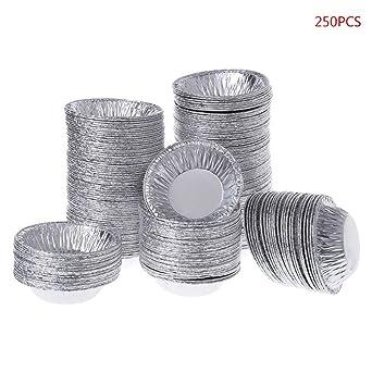 Amazon.com: Molde de aluminio desechable para huevos y ...