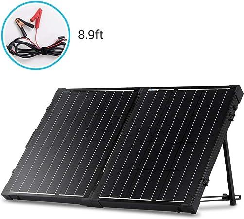 100W Solarkoffer Solarmodul PV Solarpanel Laderegler tragbar faltbar Premium Bag