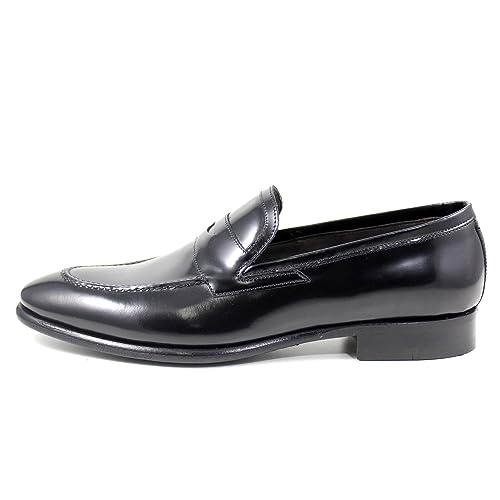 Giorgio rea Elegante Hombre Zapatos Hecho A Mano EN Italia Mocasines (EUR 40 - UK