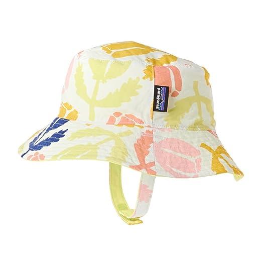 c69fd1d09e2 Amazon.com  Patagonia Girls  Baby Sun Bucket Hat (Infant Toddler ...