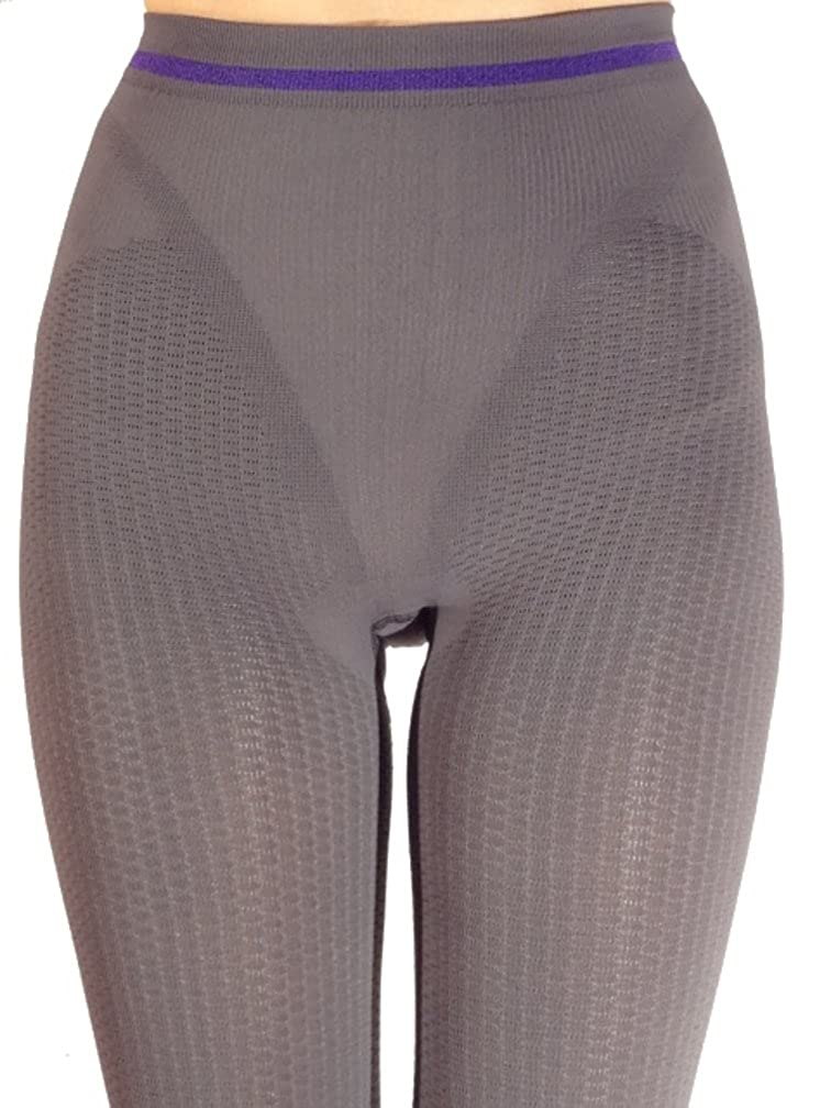 Dark Grey Anticellulite slimming leggings with emana biofir