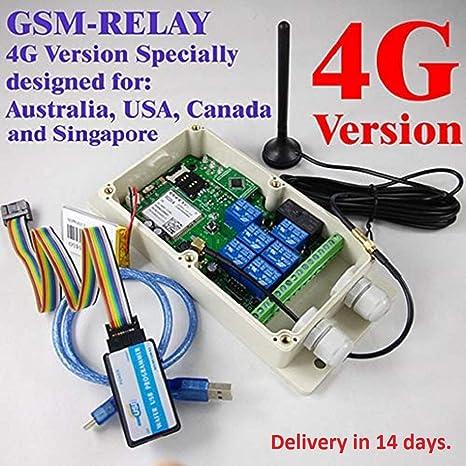 Sistema de Alarma de Seguridad - 3G/4G/GSM Apagado de Alarma ...