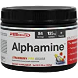 PEScience Alphamine versatile Thermogenic Energy Powder, Strawberry Pina Colada, 8.59 Ounce