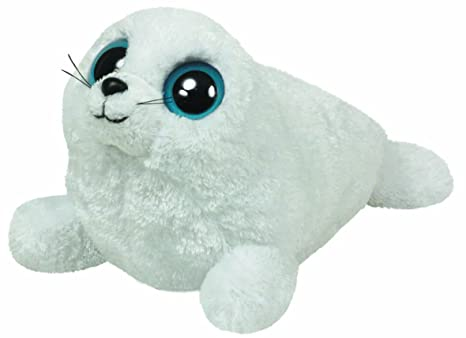 2ed010b06ad Amazon.com  TY Beanie Boos - ICEBERG the White Seal ( Beanie Baby ...