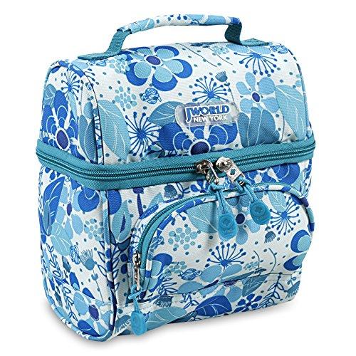 J World New York Corey Lunch Bag, BLUE VINE]()