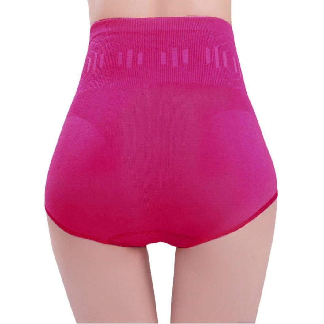 cbc9e7e0c1375 Women High Waist Underwear Tummy Control Body Shaper Briefs Slimming Pants Belly  Control Panties Postnatal Body Shaper Corset Briefs Shapewear Girdle ...