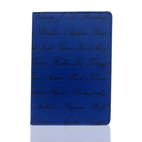 Universal 6 inch eReader funda estilo libro en relieve el nombre ...