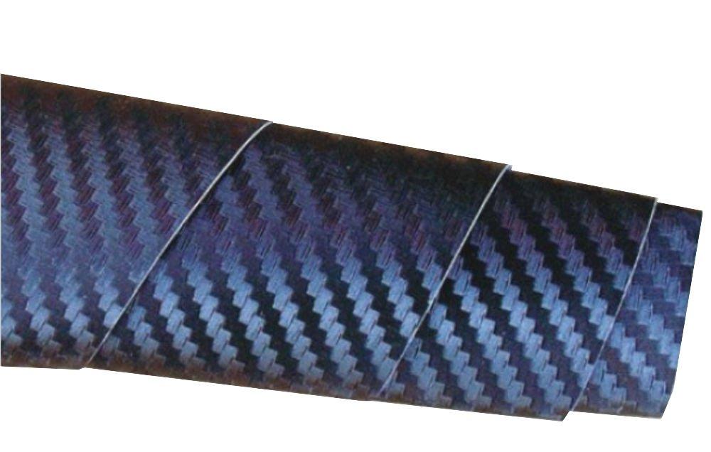 Premium Autofolie in Carbon Optik - Aufkleber fürs Auto - 5,00 m x 1,52 - für Fahrzeugbeschriftung - Carbonfolie - Carbon Folie - Gold