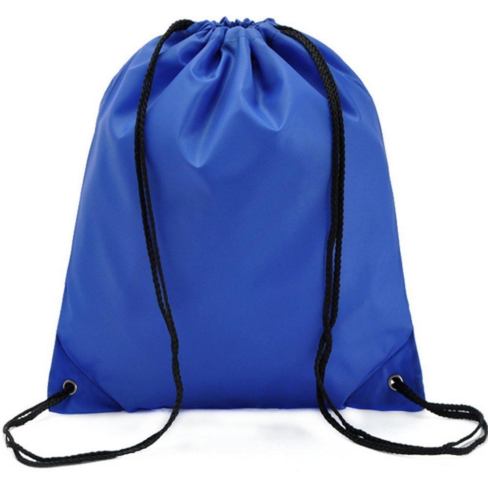 Hacoly Nylon Couleur unier Oxford Sacs étanche Ceinture Sac Pochette de Rangement- Bleu, 34 * 39cm