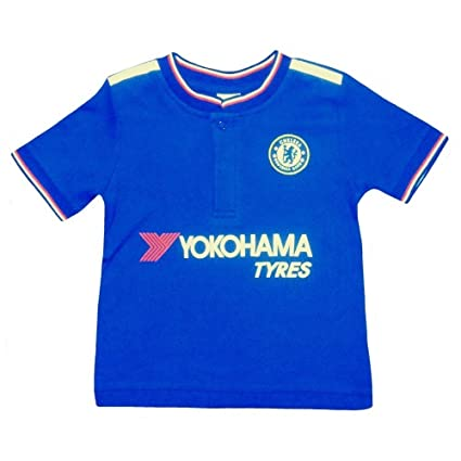 low priced a1ba2 bf497 Chelsea Fc Baby Football Kit Shirt Strip (18/23 Months)