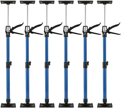6er Set Türspanner Zargenspanner Türfutterstrebe Türspreizer 51-115cm
