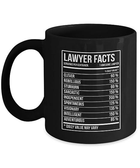 Amazon.com: Lawyer Coffee Mug - Lawyer Gifts Lawyer Nutritional ...
