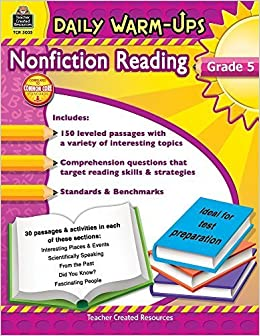 Book Daily Warm-Ups: Nonfiction Reading Grd 5 by Ruth Foster (2011-03-01)