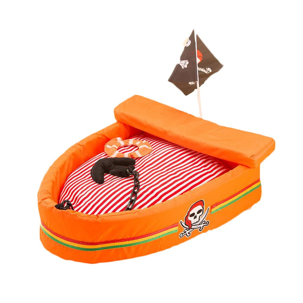 Pirate ship pet bed summer kennel dog bed cotton nest VIP Teddy Jingba cat litter pet nest