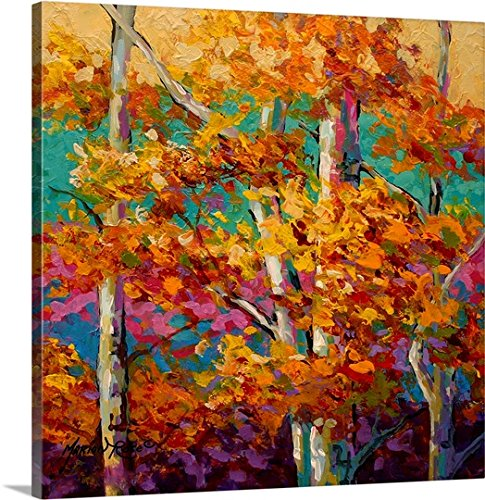 Marion Rose Premium Thick-Wrap Canvas Wall Art Print entitled Abstract Autumn III