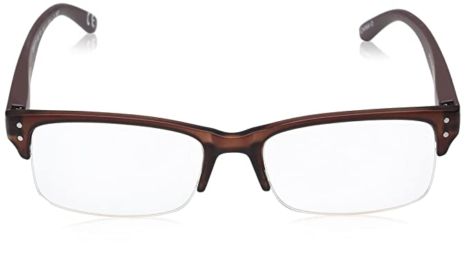 999767fbed Amazon.com  Foster Grant Men s Elijah Brown 1017898-150.COM Round Reading  Glasses